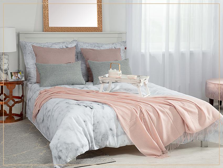Spálňa v romantickom štýle