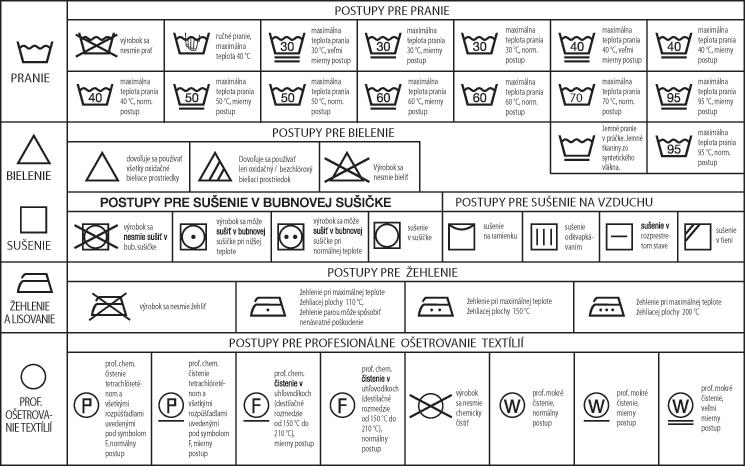 symboly ošetrovania